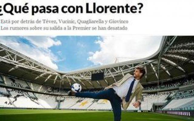 Juventus Qué pasa con Llorente? Llorente che succede? Il Marca apre il caso. Sul mercato a Gennaio. Video #juventus #lliorente #mercato #gennaio #conte