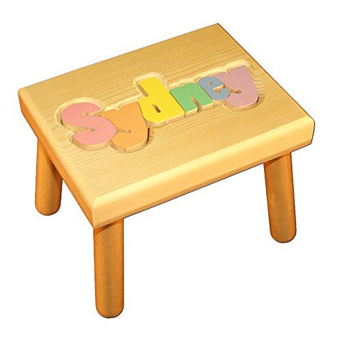 Unique Child Wooden Step Stool