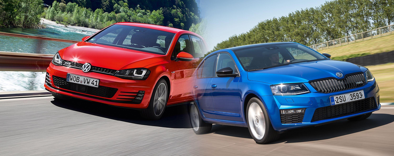 VW Golf GTD vs Skoda Octavia vRS New Cars Head to Head