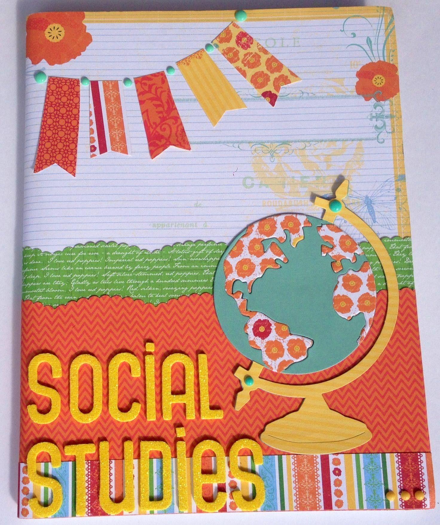 Notebook Idea Social Stu s By The Scrapbook Store