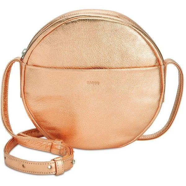 668fa449e08e Baggu Leather Circle Purse ( 160) ❤ liked on Polyvore featuring bags