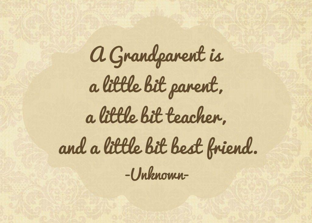 Grandparents Prints Grandparents Day Happy Grandparents