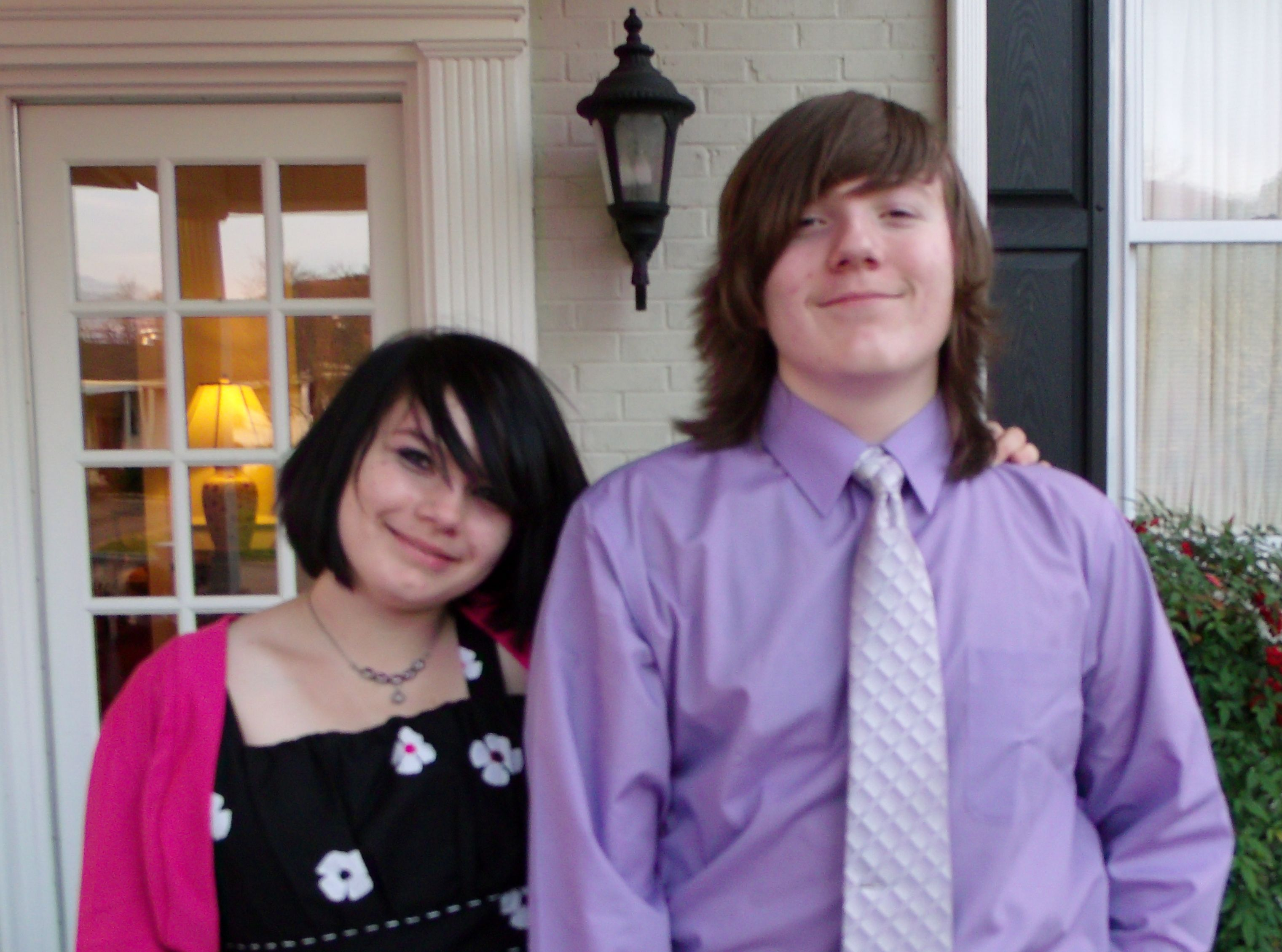The Brat and The Boy now as teenagers