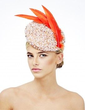 Rosie Olivia London Hat Designer creates luxurious, fun hats with a modern twist using the finest materials | Rosie Olivia Millinery