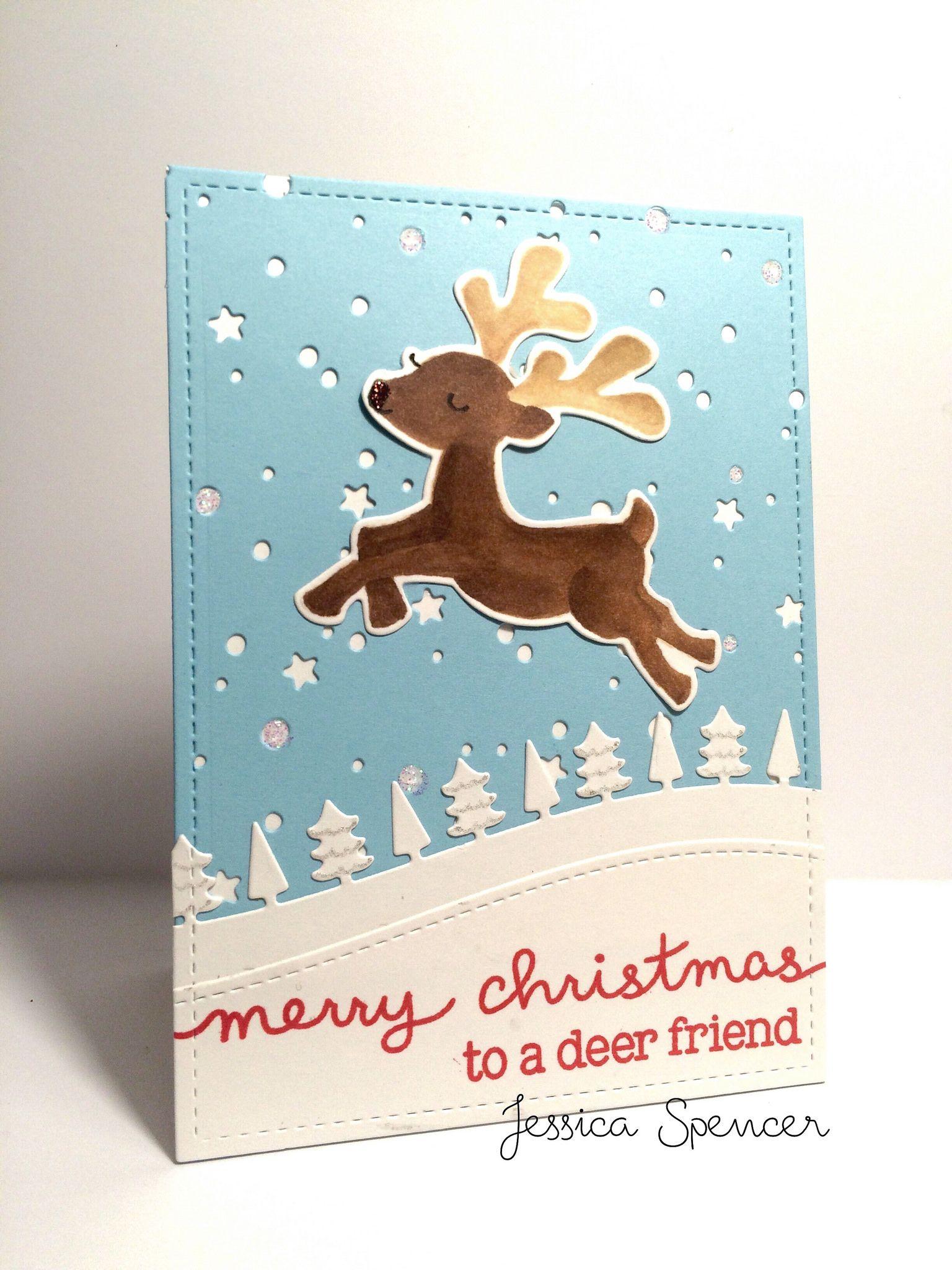 To a deer friend😊 Celebrate the Season Lawn Fawn