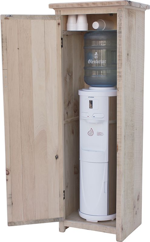 A Water Cooler In Cabinet Or Just Use Waterbasket Http