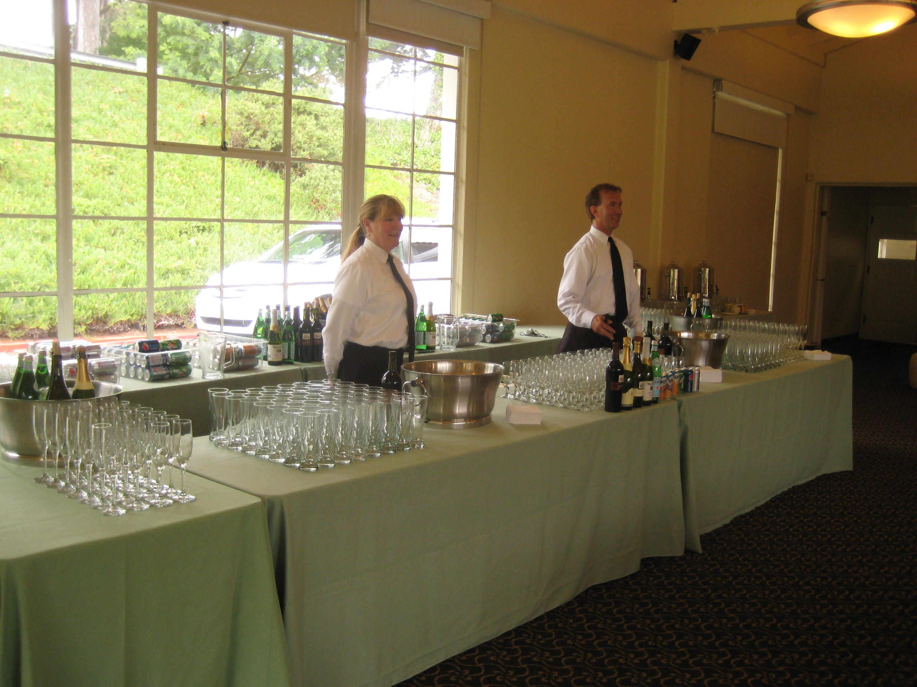 That Is A Wine Beer Champagne Bar Setup