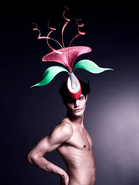Orchid Hat by Philip Treacy  0309b98668ac