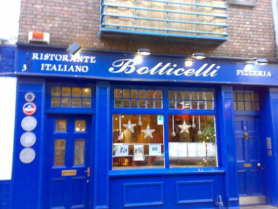 Botticelli Ristorante Italiano Temple Bar Dublin Ie