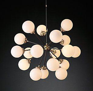 Bistro Globe Chandelier Collection | RH