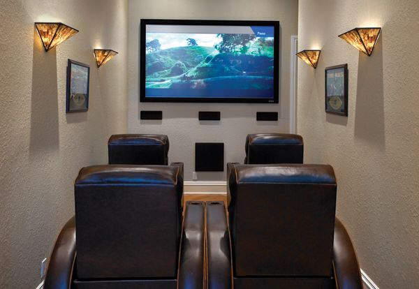 8 Foot Wide Theater Room Small Home Theaters Small Media Rooms