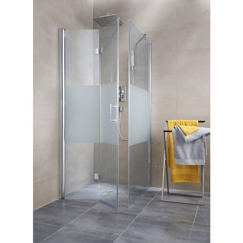 Porte de douche pliante REVERSO - Bain Maison Pinterest - porte accordeon pour douche