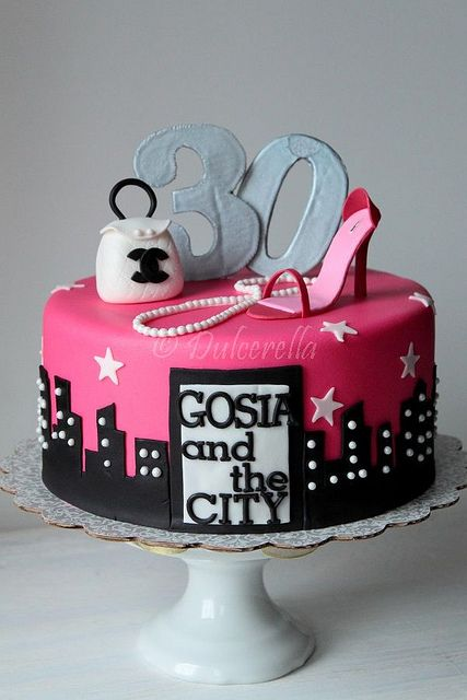 Sex in the city cake