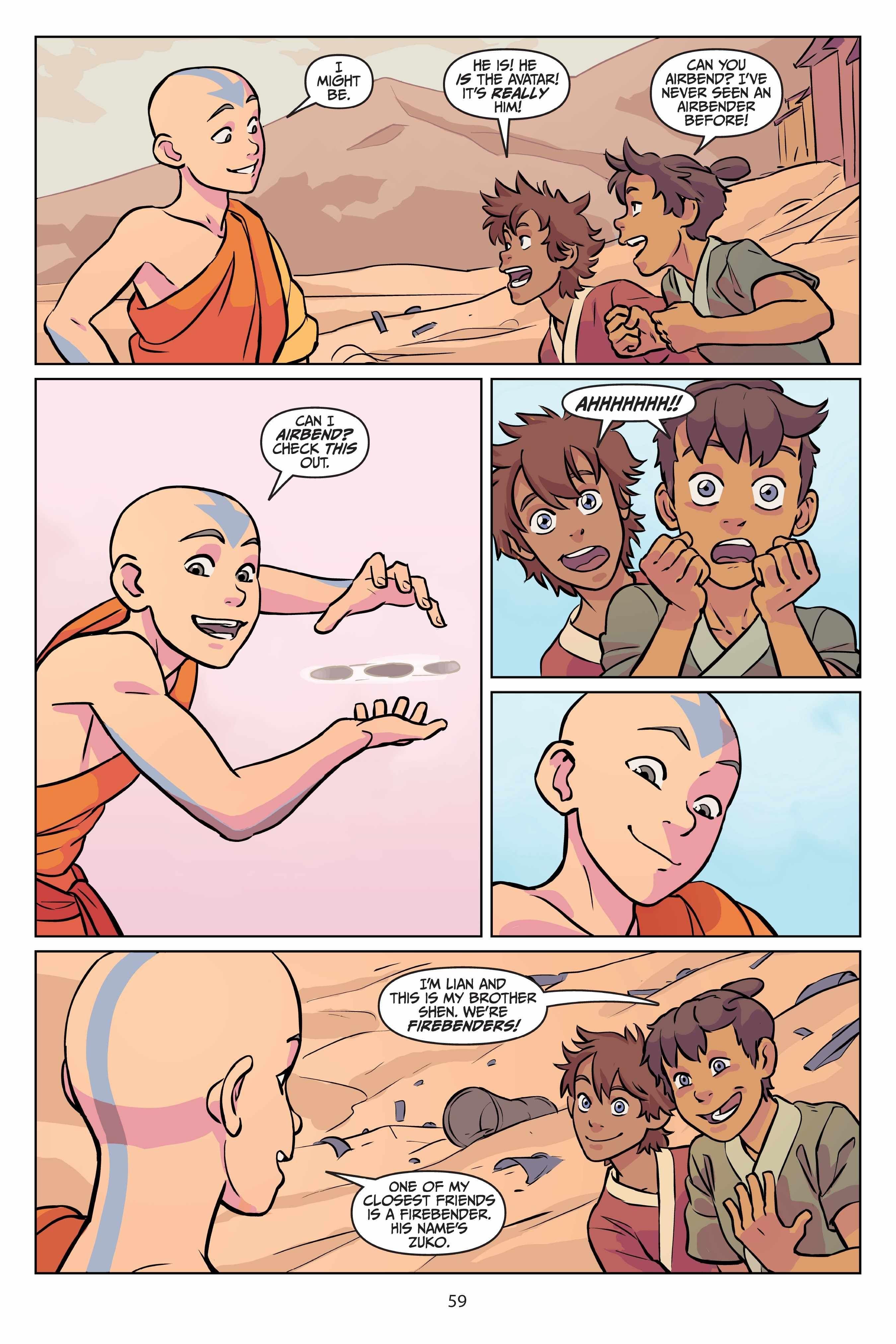 Shen Avatar Halloween 2020 Read Comics Online Free   Avatar The Last Airbender Comic Book