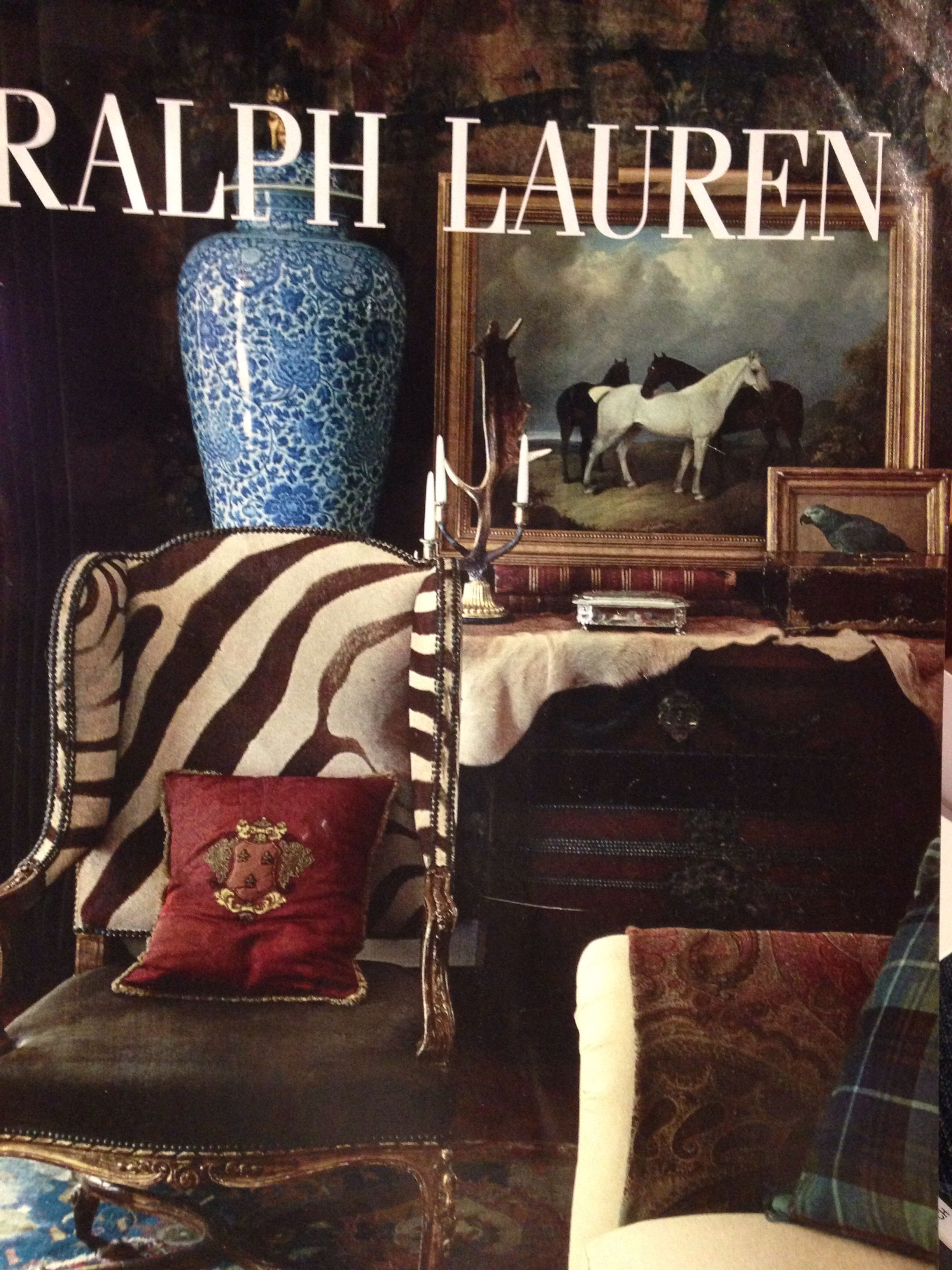 Anything Ralph Lauren Plaid Animal Print And Blue And
