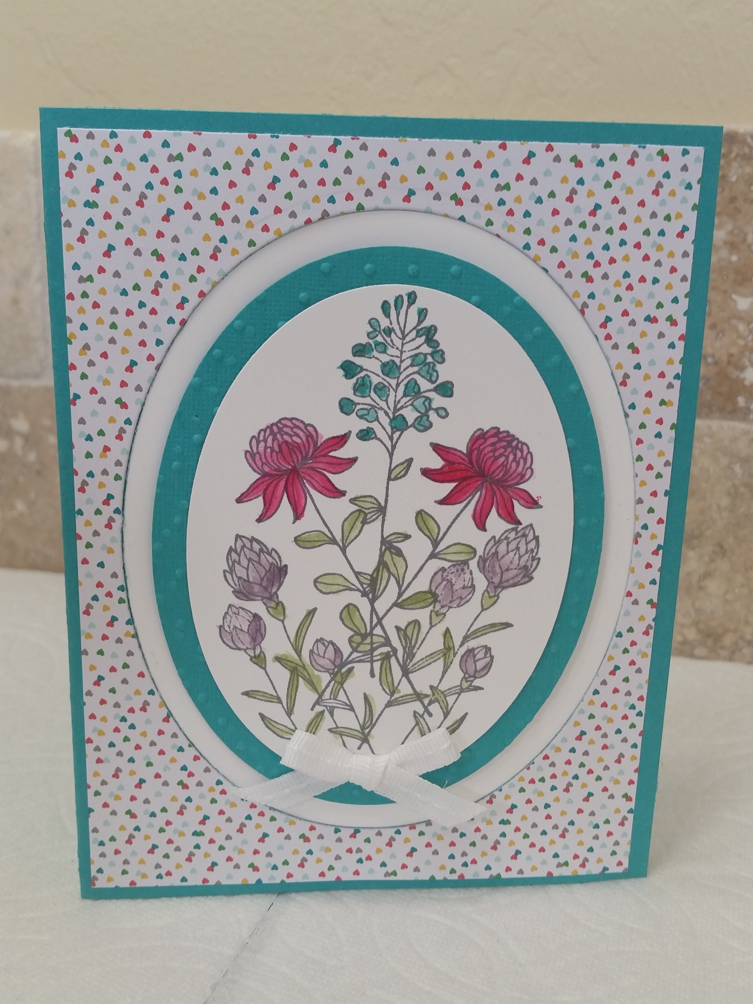 Beautiful Card From Our Stampin Up Sale A Bration Catalog Free With