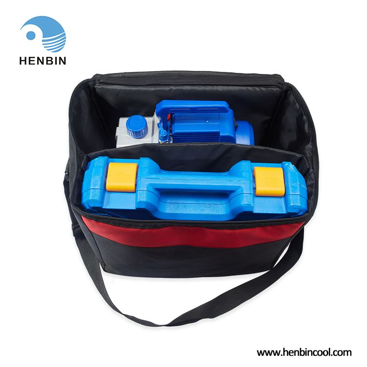 Henbin Mini Split Hvac Auto Ac Repair Complete Tool Kit With Vacuum Pump Manifold Gauge Set In 2020 Vacuum Pump Ac Repair Auto Ac Repair