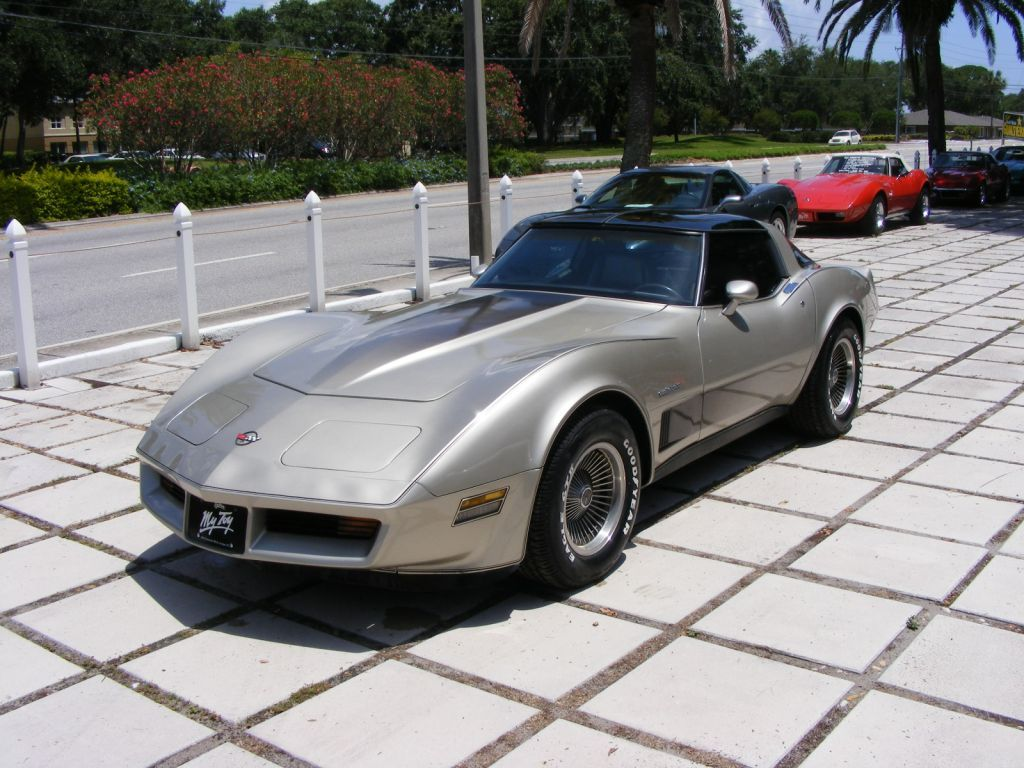 1982 Collectors Edition Four Speed Automatic Removable See Through T Tops Special Silver Beige Chevrolet Corvette Chevrolet Corvette Stingray Chevy Corvette
