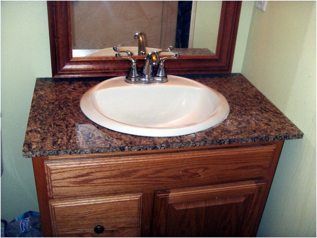 Good How To Install Laminate Formica For A Bathroom Vanity From Bathroom  Countertop Installation