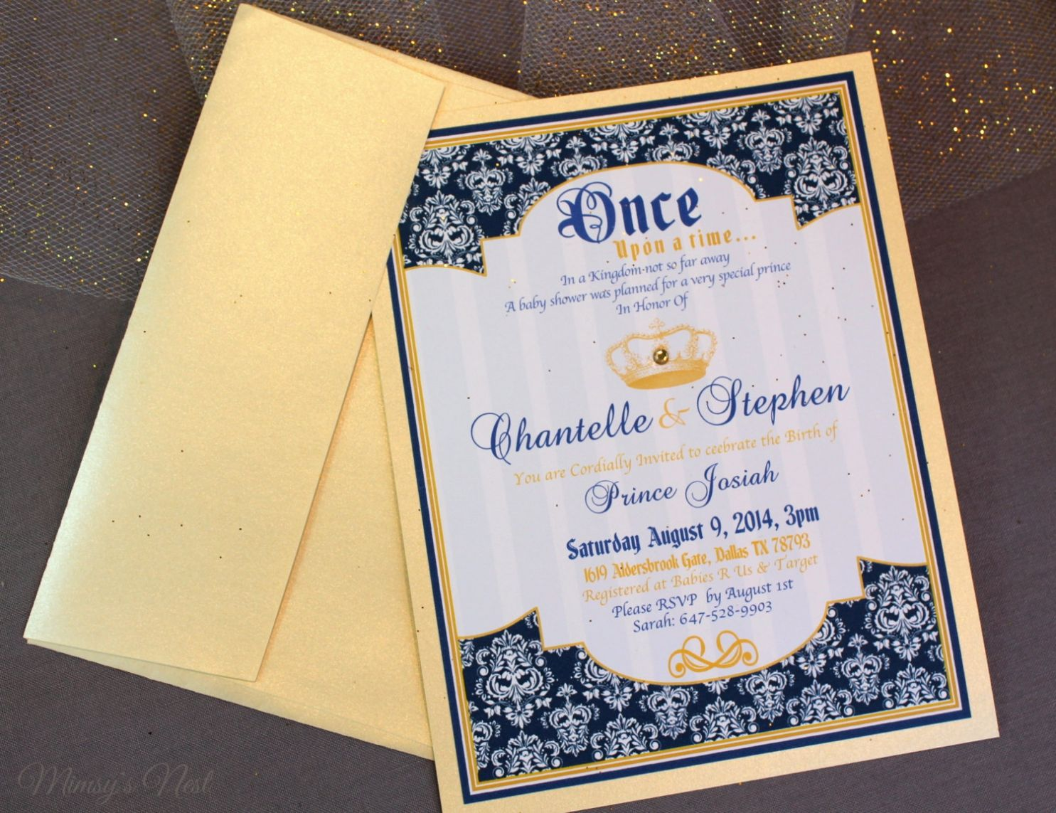Royal Themed Baby Shower Invitations to inspire you in making breathtaking  online baby shower invitation 2964