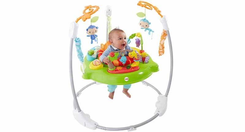 Fisher Price Roarin Rainforest Jumperoo Review A Baby Is A Symbol