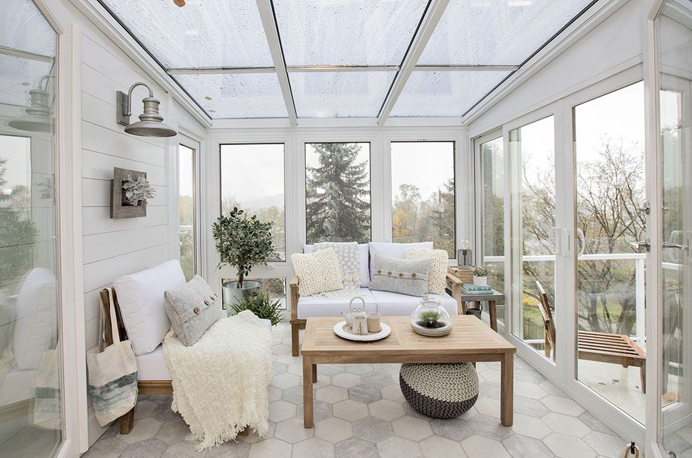Luxury Sunroom Decor Images