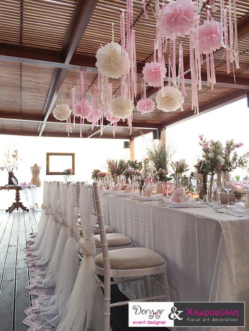 Wedding decoration ideas for hall   Shabby u Chic Vintage Wedding Decor Ideas in   Γαμος βαφτιση