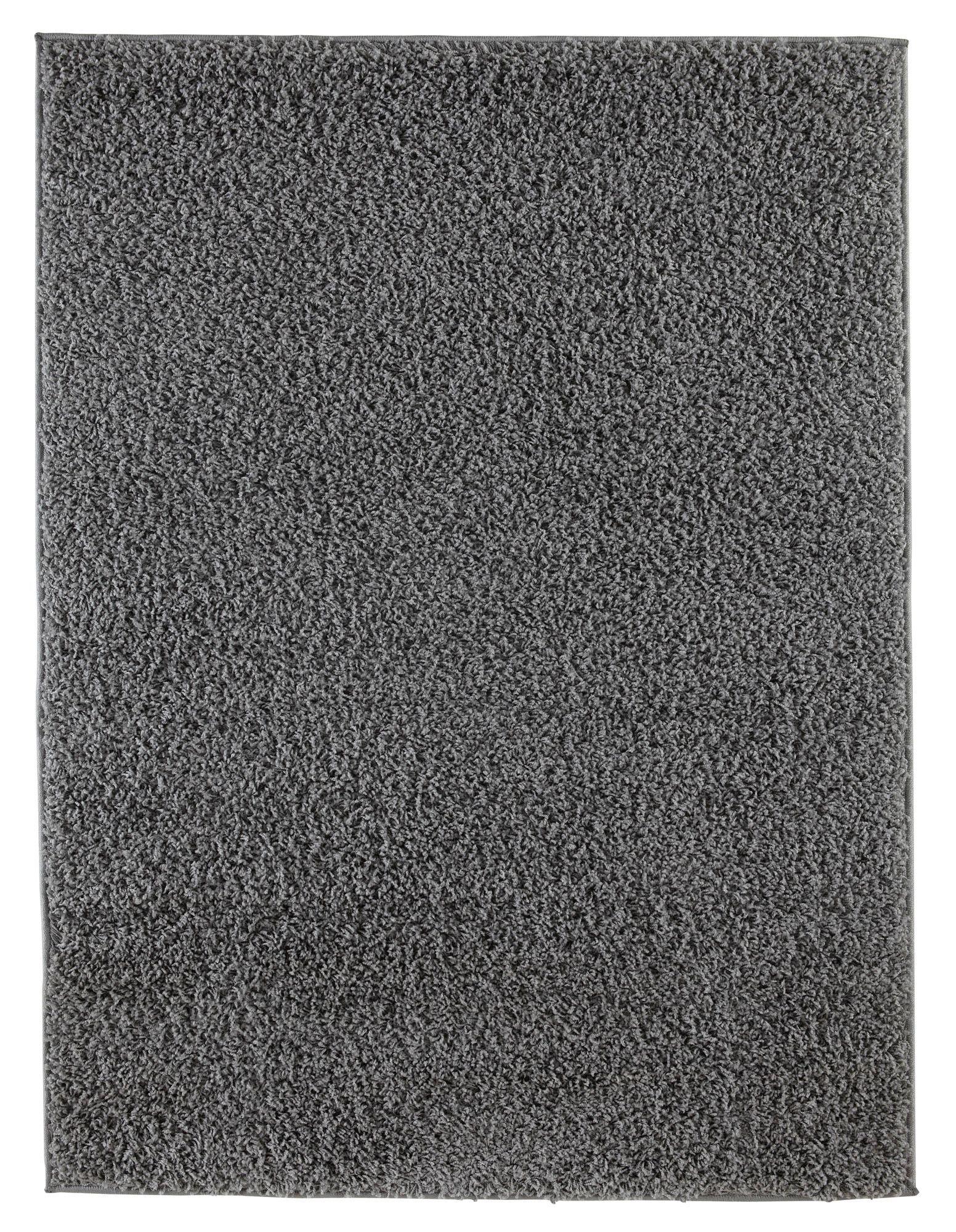 Colours Kala Grey Rug L 1 6m W 2m Departments Diy At B Q