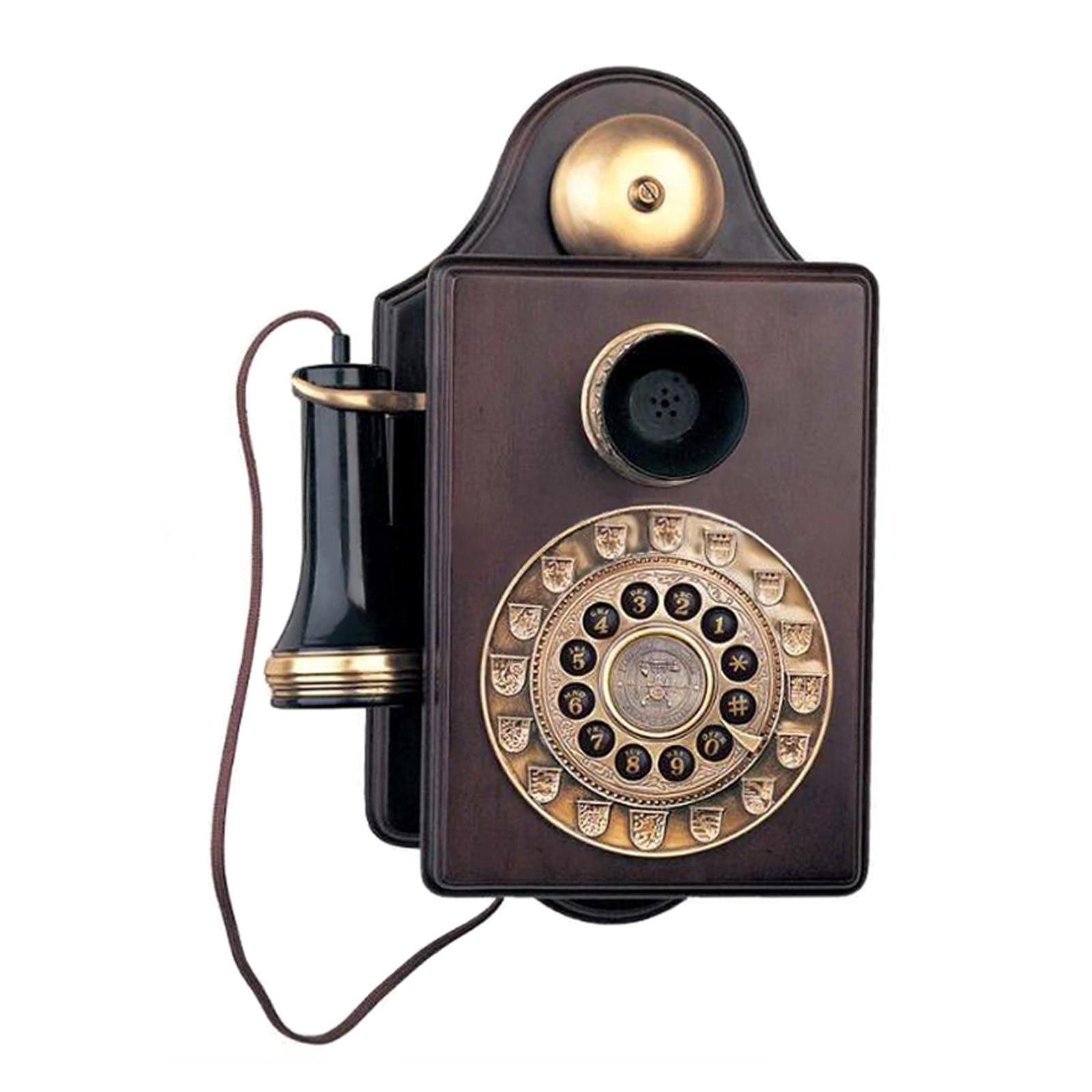 Antique Wall Reproduction Novelty Phone