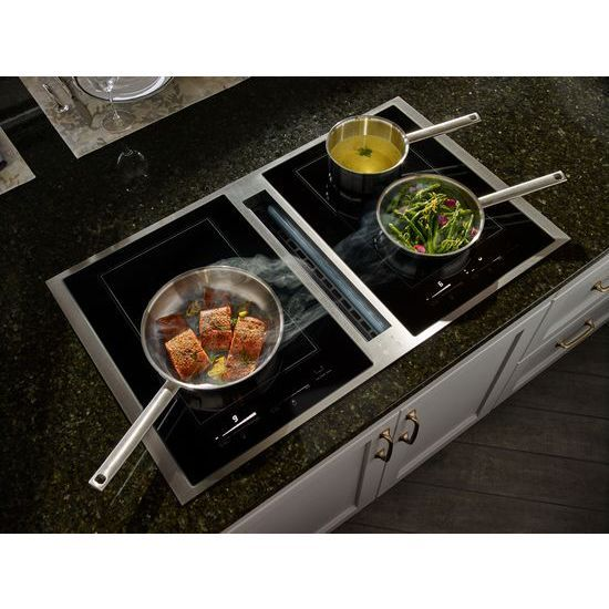 Is There Any Induction Cooktop With Downdraft Vent Incorporated