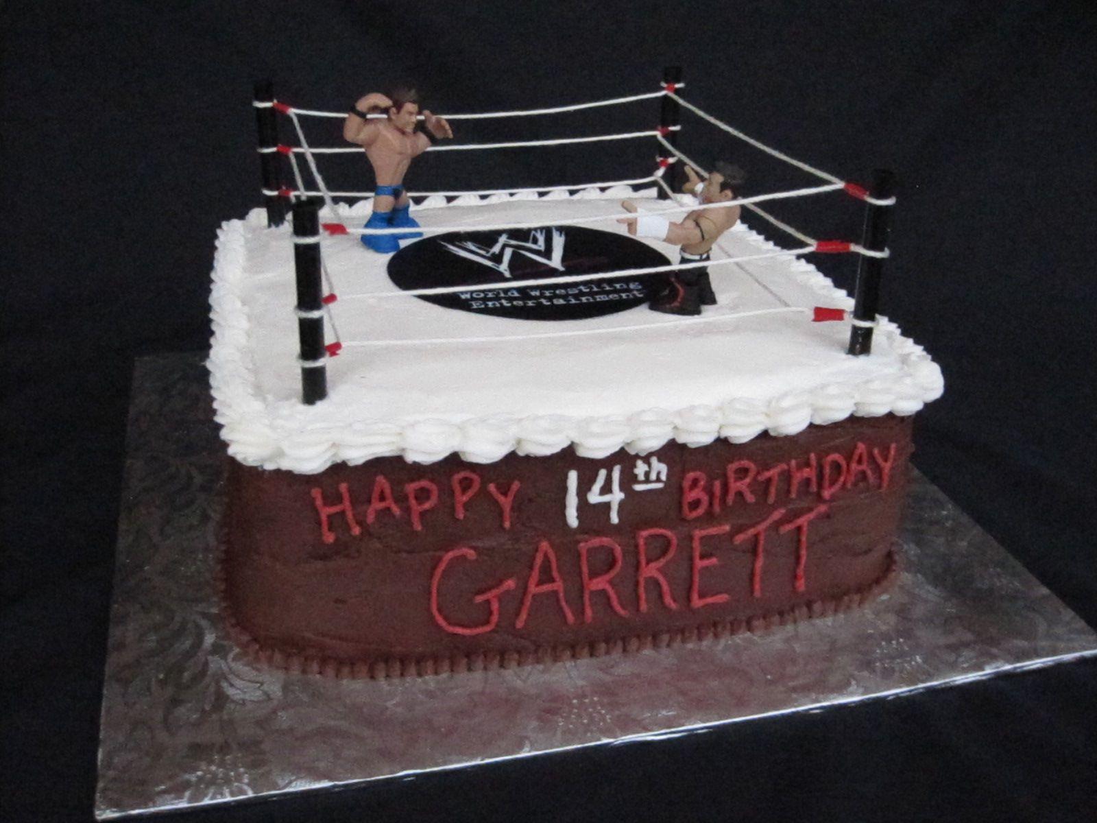 WWE John Cena Birthday Cakes