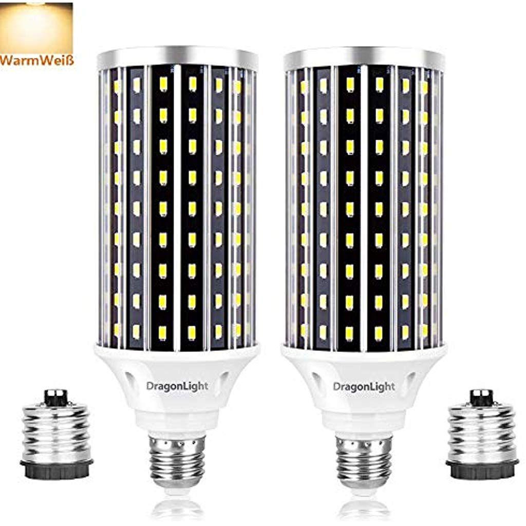 50w Superhelle Mais Licht Led Gluhbirnenersetzt 350watt 3000k Warmweiss 5000 Lumens E27 Edison Led Lampe Mit E40 Adapter Fur Ge In 2020 Led Lampe Led Gluhbirnen Led