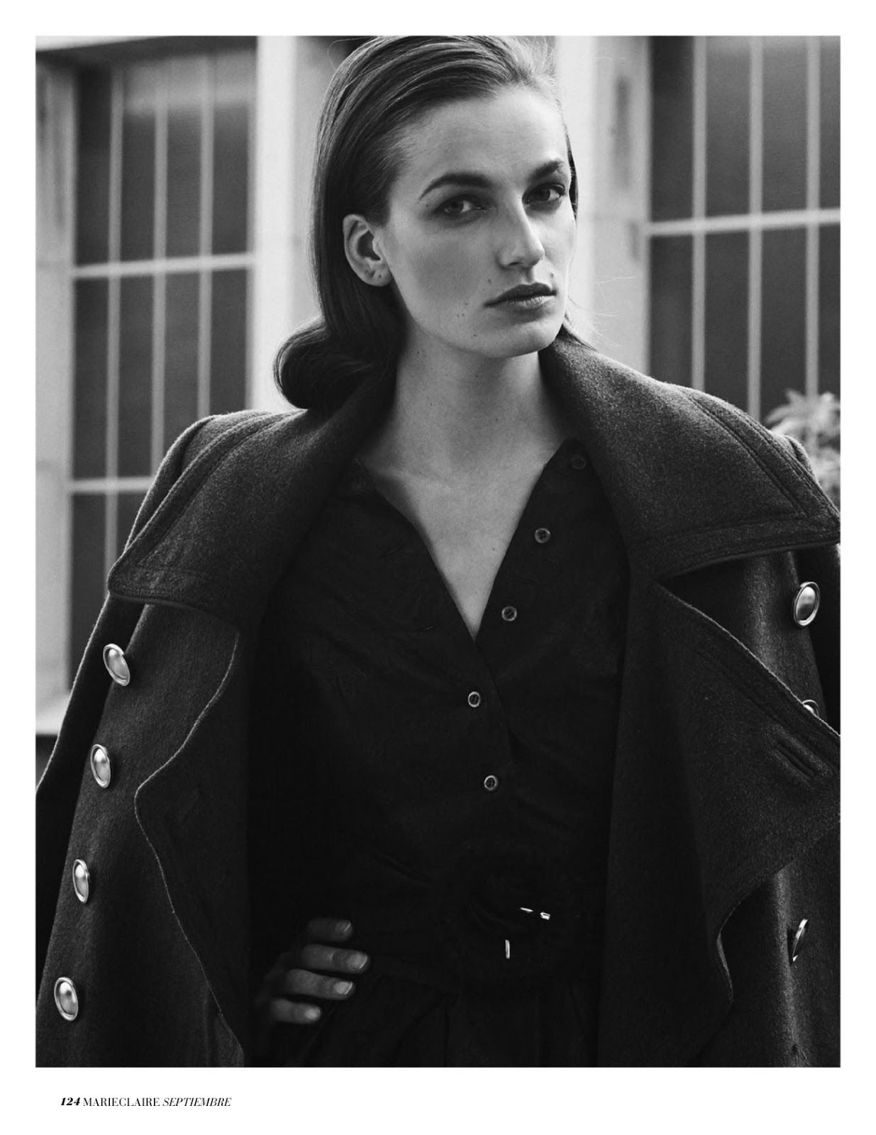 """""""Military Show"""" Smith Vanders for Marie Claire Spain September 2016 Fancy Fatigue Pinterest"""