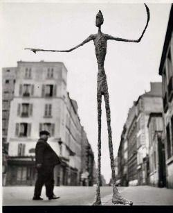 Gordon Parks :: Sculpture by Alberto Giacometti, 1951