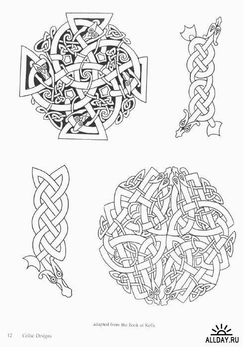 Authentic viking art old norse designs celtic and old norse designs knotwork pinterest - Tatouage celtique viking ...