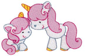 Embroidery | Free Machine Embroidery Designs | Bunnycup Embroidery | Magical Unicorns