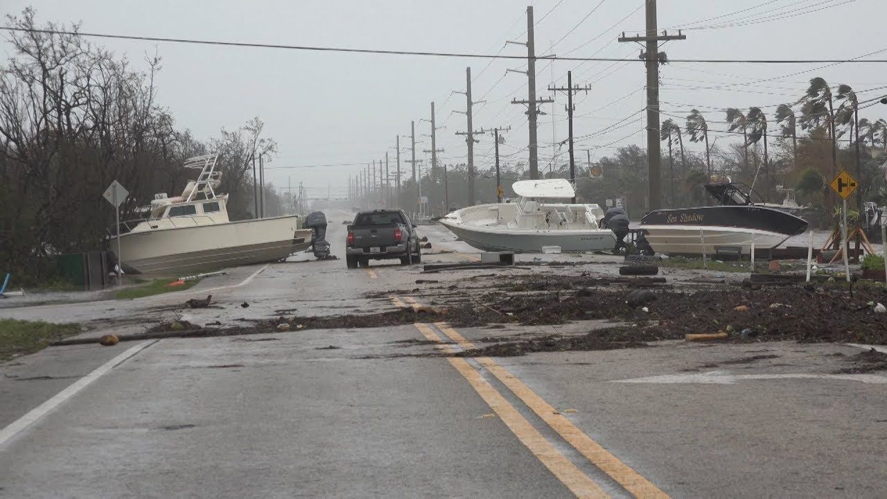 Hurricane Irma Aftermath In The Lower Keys With Images Florida Florida Keys National Hurricane Center