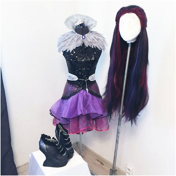 70b08fbf Raven Queen Ever After High FULL COSTUME ADULT | Disfrazes!! | Raven ...