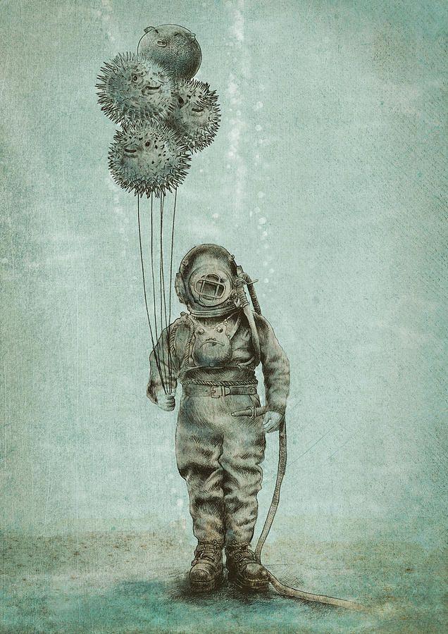 deep sea diver art google search