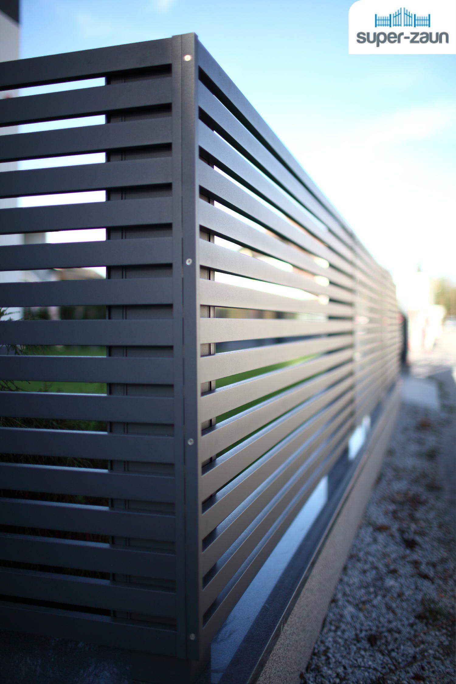 Fur Hochsten Designanspruch Bei Zaunen Und Toren Aus Aluminium