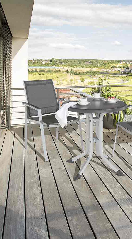 Kettler Lille Comfort Stapelsessel Aluminium/Textilene | Garten und ...