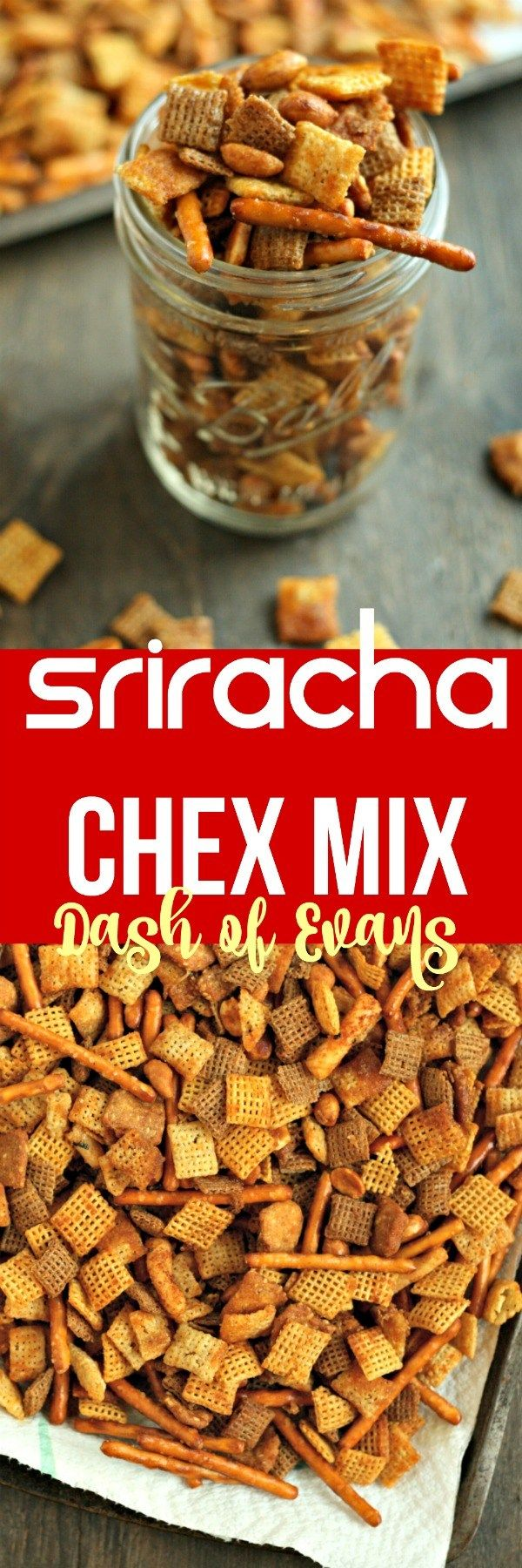 Perfect road trip snack sriracha chex mix crunchy savory and so food forumfinder Image collections