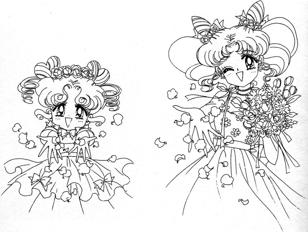 Chibi Chibi and Chibiusa | Sailor Moon | Pinterest