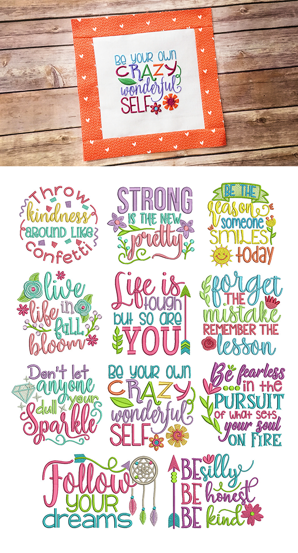 11 MORE gorgeous and inspiring word art designs Inspired Sayings