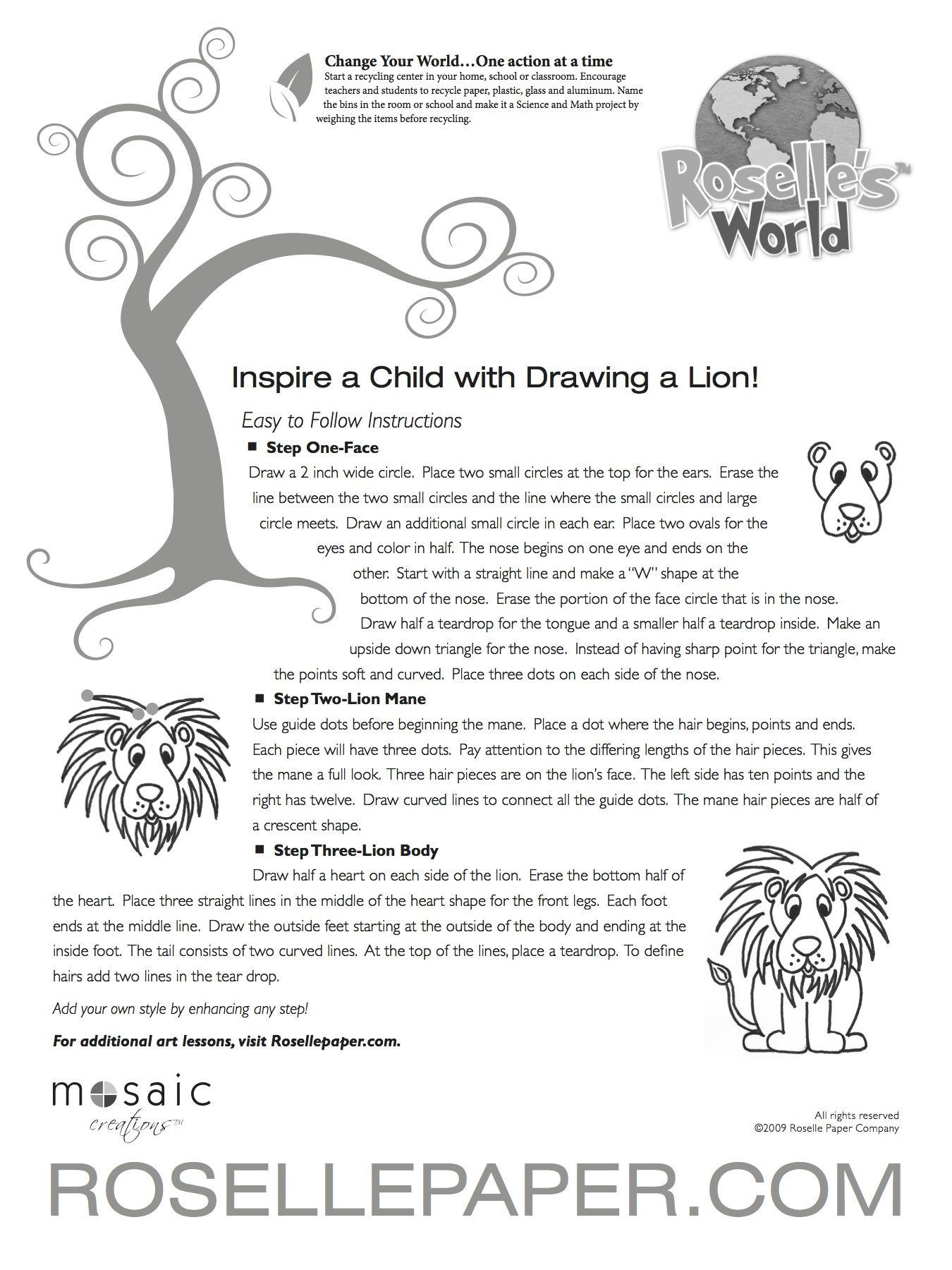 Drawing A Lion Is Easy Thanks To These Instructions