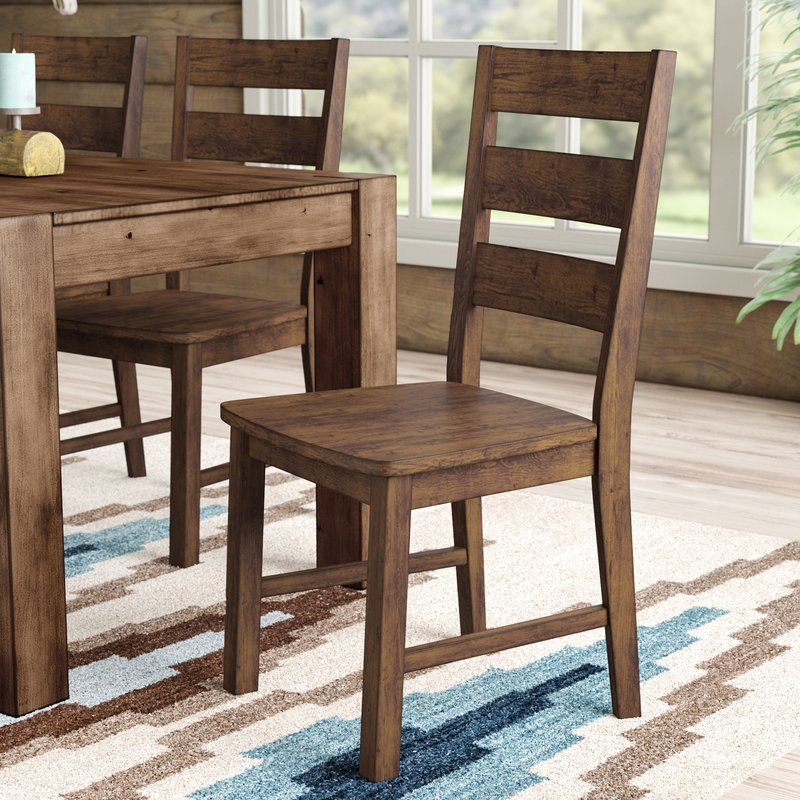 Maci Solid Wood Dining Chair Dining Chairs Diy Dining Chairs