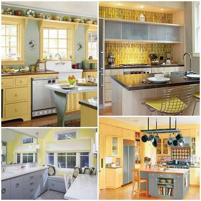 Yellow And Grey Kitchen Decor Inspirational Gray Inspiration Photos Pearl Designs Walls