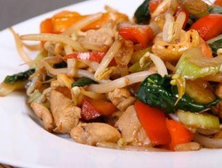 ¿Qué tal esta #receta de pechuga de #pollo al estilo #chino para dar un toque oriental a una cena con amigos?