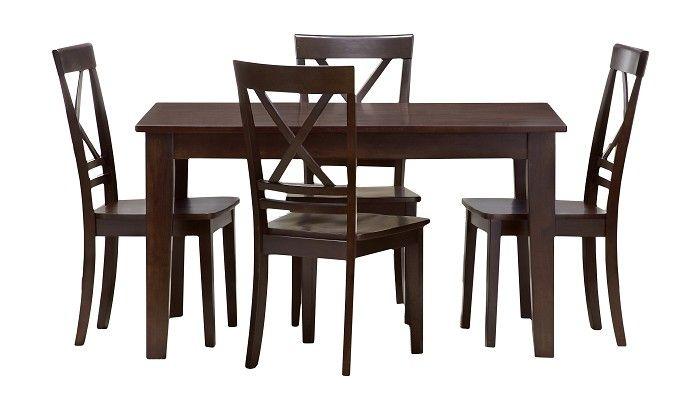 Slumberland Furniture  Cosmos Collection  Espresso Dining Set Cool Slumberland Dining Room Sets Inspiration Design