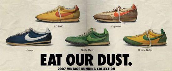 Coureurs Nike Vintage